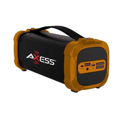 AXESS PBBT2709RD  Portable Bluetooth FM Radio CD MP3 USB SD Heavy Bass Boombo...