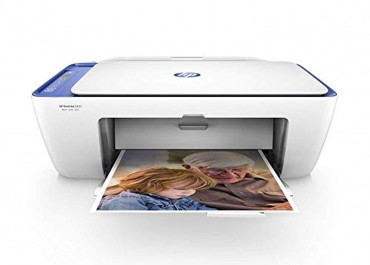 HP DeskJet 2655 All-in-One Compact Printer, HP Instant Ink & Amazon Dash Replenishment ready – Noble Blue (V1N01A)